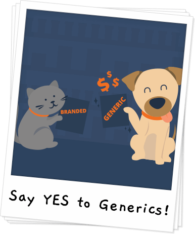 Why Choose Generic Pet Meds Banner