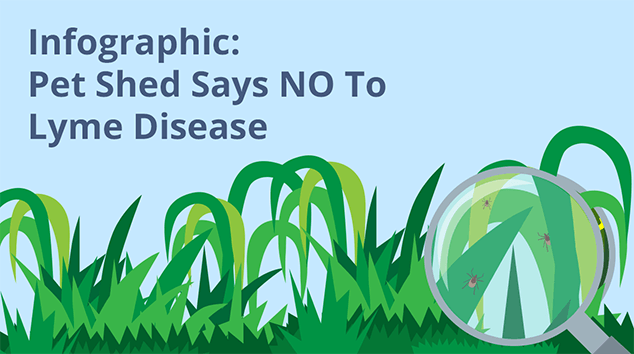 Infographic: Pet Shed Says NO To Lyme Disease