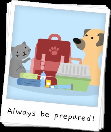 National Pet Preparedness Month Banner