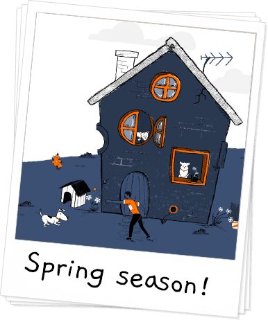 Pet-Safety Tips to Remember During Spring Season Banner