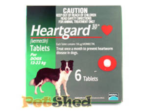 You won't find better-value Heartgard than at Pet Shed - purchase it here!