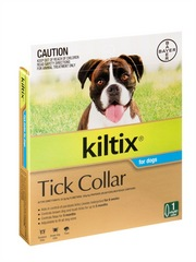 Kiltix Flea & Tick Collar for Dogs by Bay-o-Pet