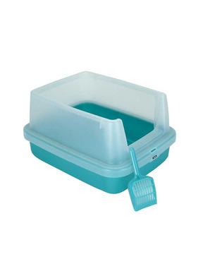Iris Open Cat Litter Box with Guard