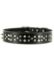 Kakadu Pet Punk Pooch Studded Leather Collar