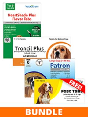 Generic Advantix II Total Care Package
