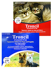 Is Drontal The Same For Cats And Dogs